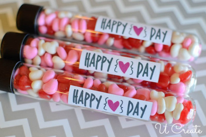 Valentine Vials with Michaels Crafts