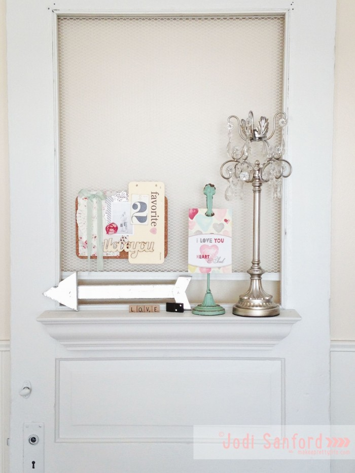 Valentine Decor Tutorial by Jodi Sanford