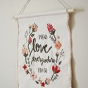 DIY Valentine Wall Hanging by Pretty Life Girls