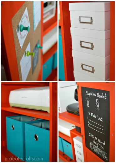 DIY Craft Armoire