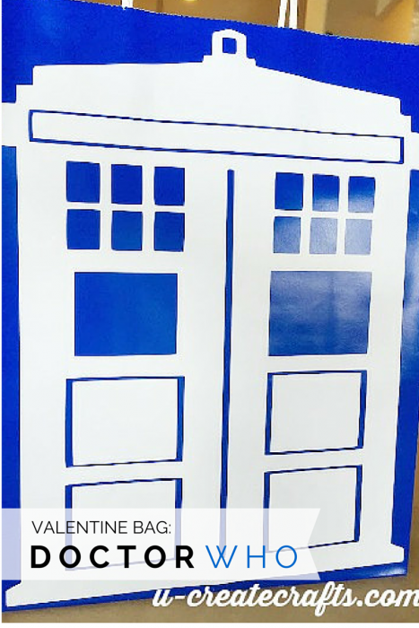 Doctor Who Valentine Gift bag