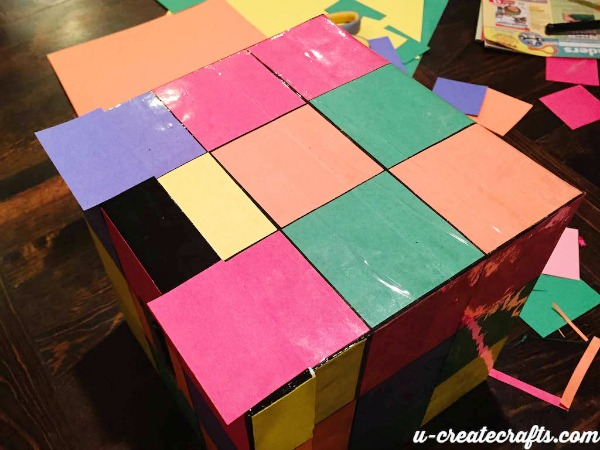 Easy Rubiks Cube Box