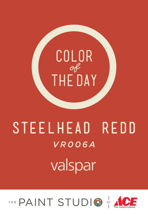 Color of the Day - Steelhead Redd by Valspar