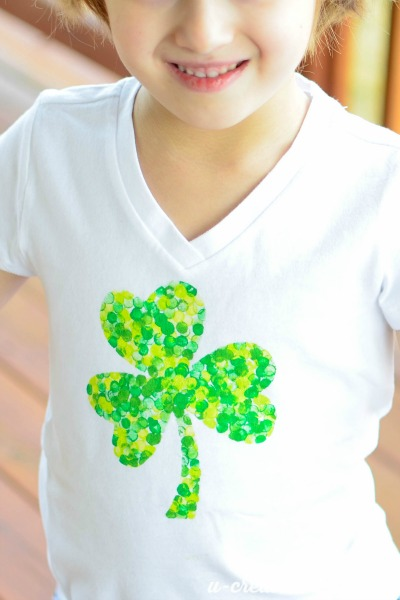 Shamrock shirt for kids