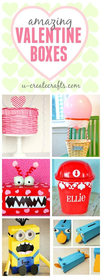 Tons Of Amazing Valentine Boxes At U Createcrafts.com