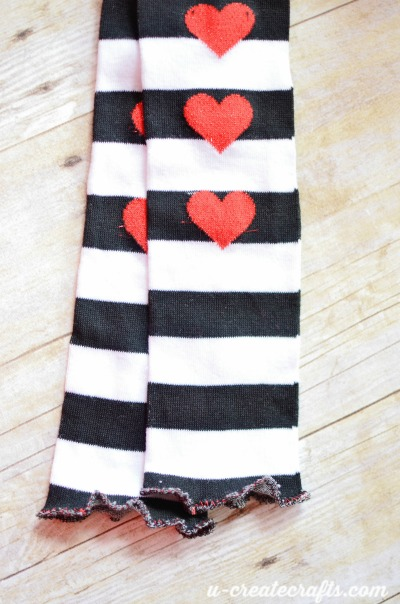 Valentine Leg Warmers