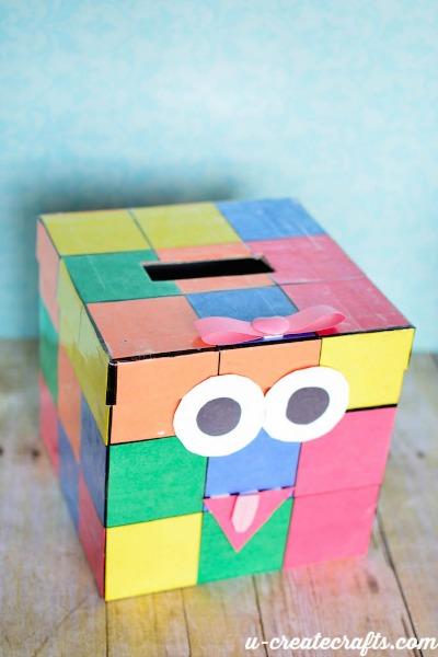 Valentine Mailbox Rubiks Cube