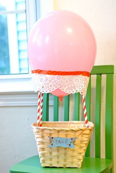 Hot Air Balloon Valentine Box By Yours Truly