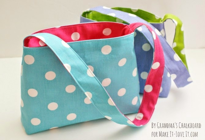 Kids Reversible Bag Tutorial by Grandma's Chalkboard