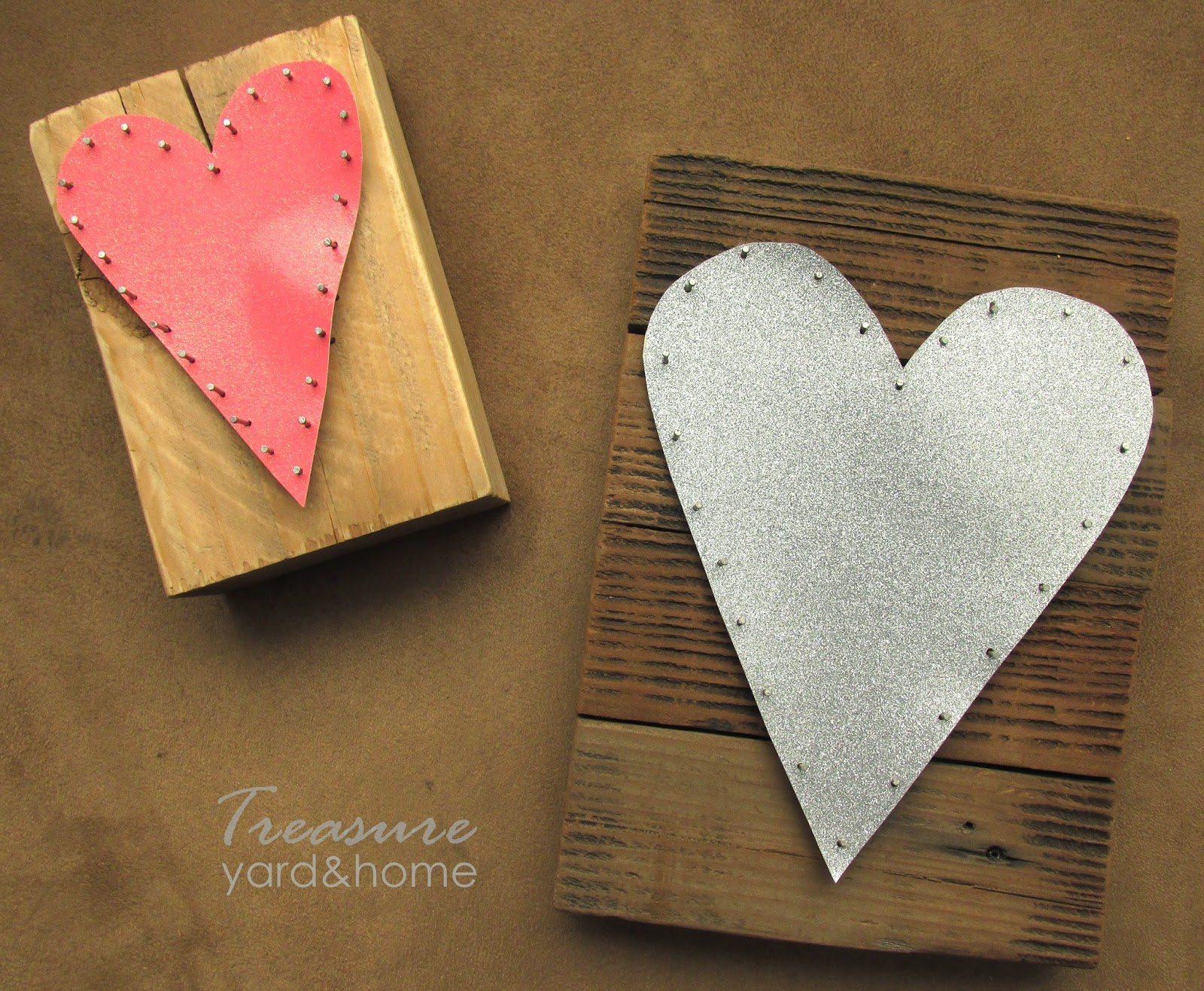 DIY Nail and Paper Art by Treasure Yard and Home