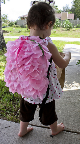 Petals Galore Backpack Tutorial by Happy Together