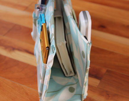 Purse Organizer Tutorial by Fresh Crush