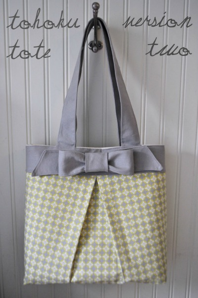 Tohoku Tote Tutorial by I am Momma
