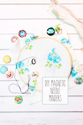 DIY-Magnetic-Needle-Minders-Flamingo Toes