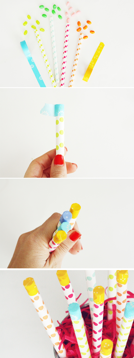 Easter Surprise Straws by In Honor of Design