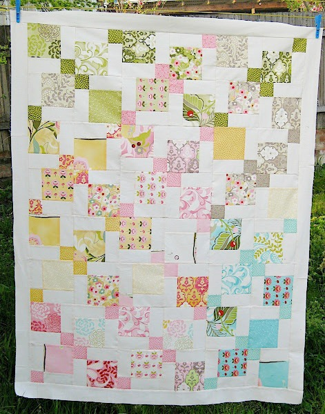 Moda Hunky Dory Quilt Tutorial at Sewn Up