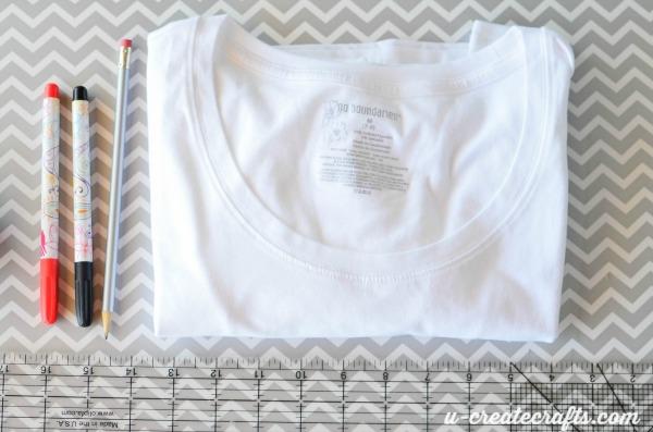 Teacher Shirt Supplies