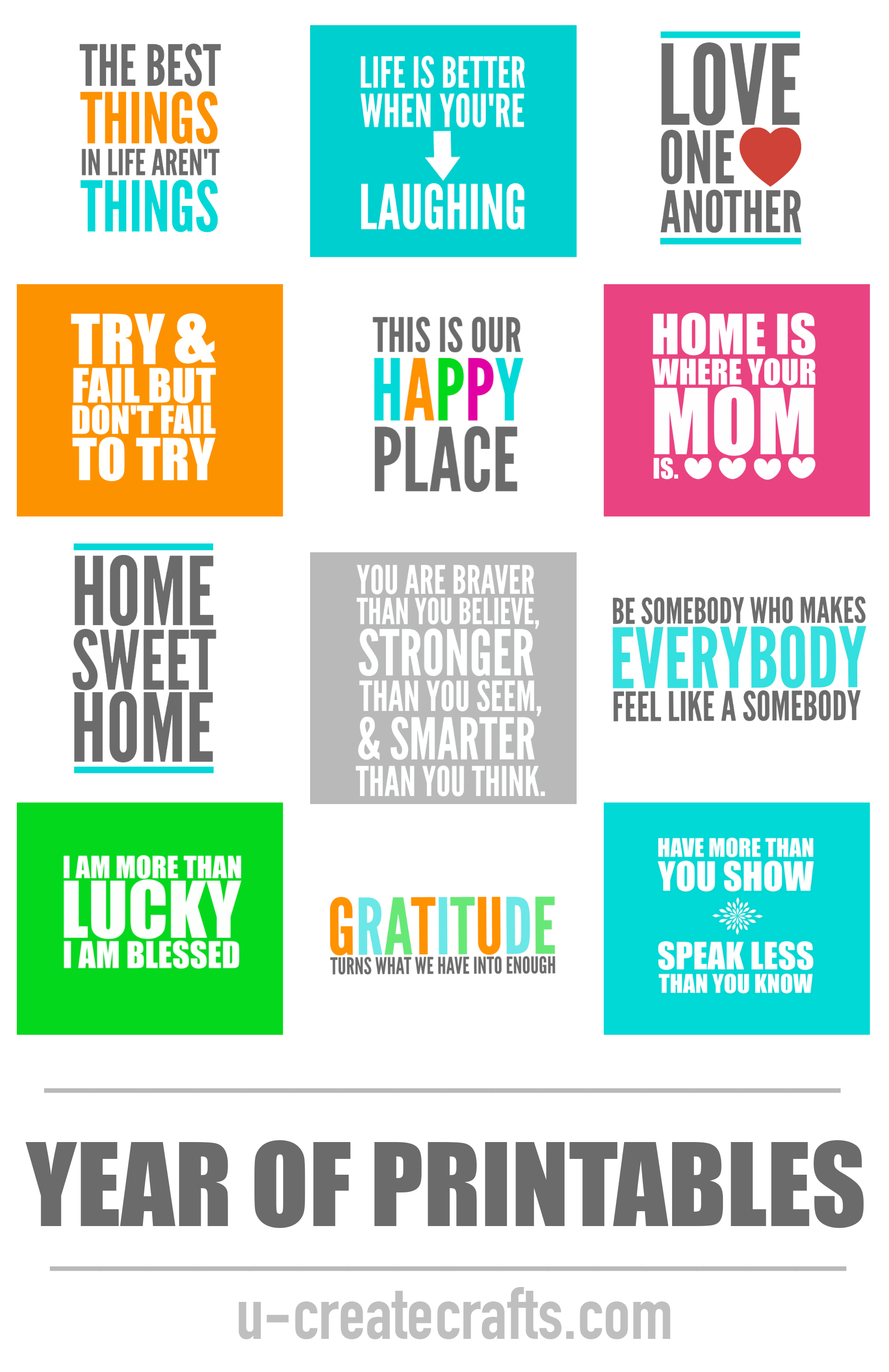 graphic regarding Extra Gum Teacher Appreciation Printable named 12 months of Printables - U Crank out