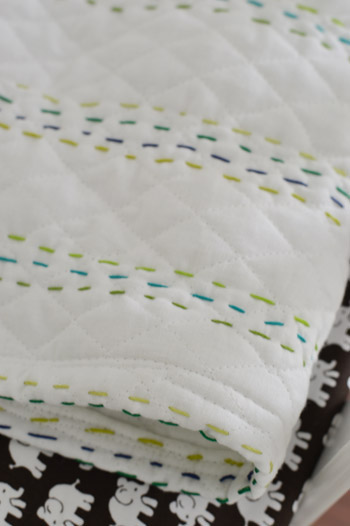 Young House Love Quilt Stitching