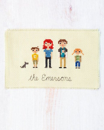 cross-stitch-people at Martha Stewart