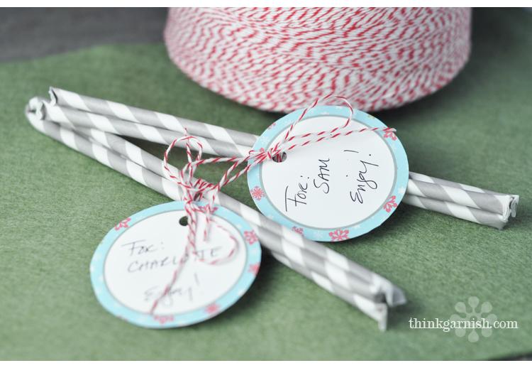 DIY Pixie Sticks by Think Garnish