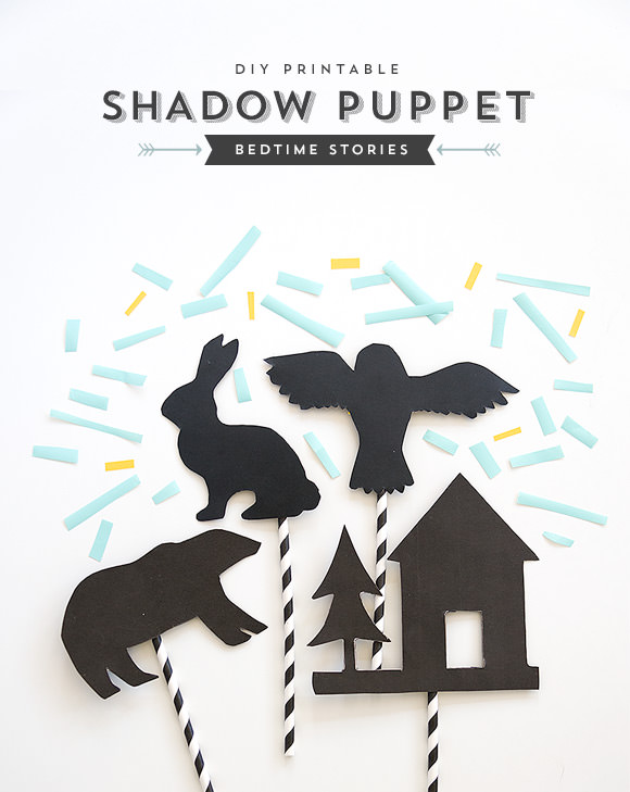 DIY Shadow Puppets by Handmade Charlotte