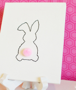 Free Stitchable Easter Bunny