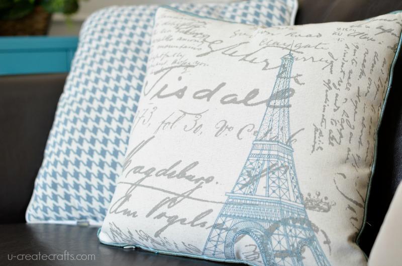 Paris Home Decor at u-createcrafts.com
