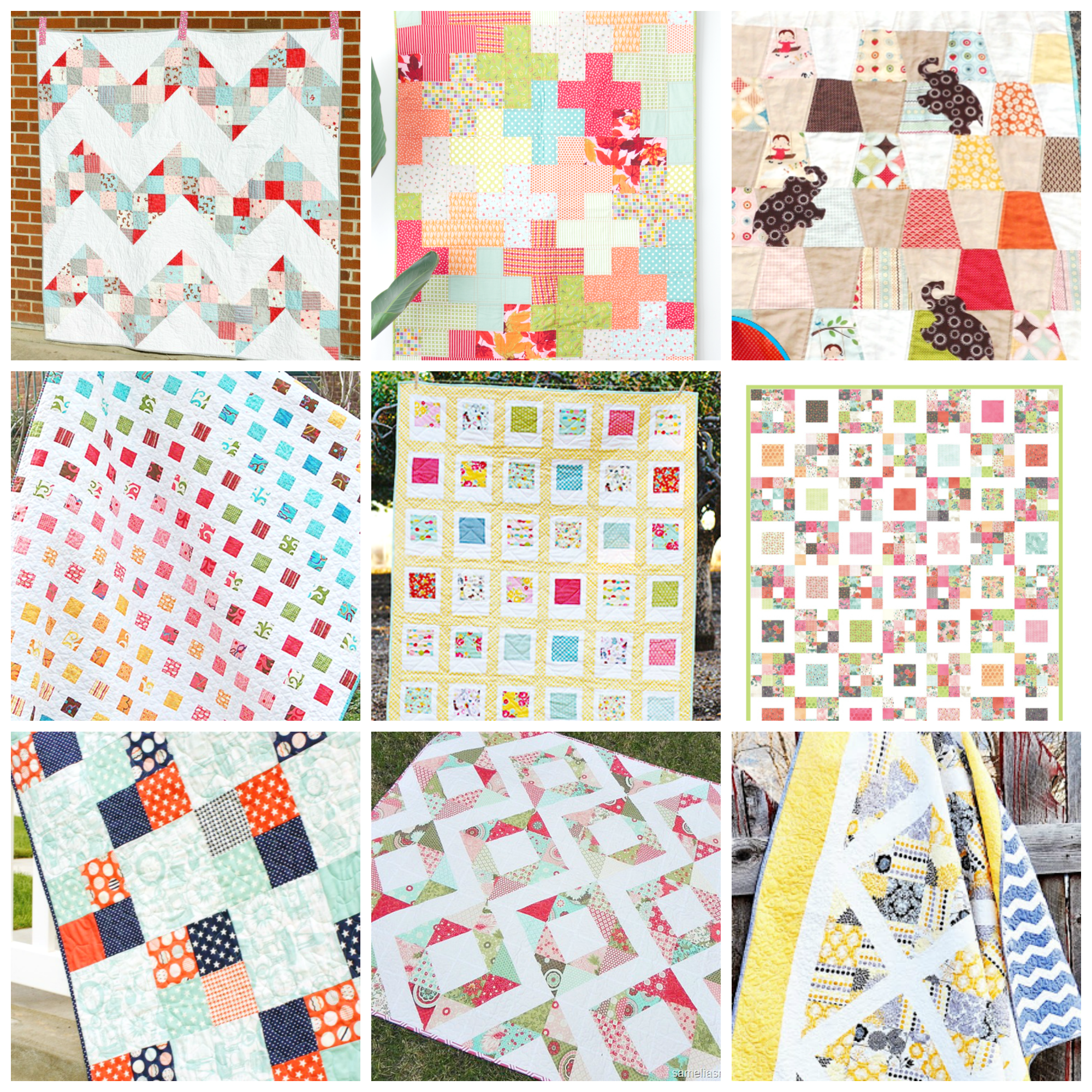 Free Charm Pack Quilt Patterns - U Create