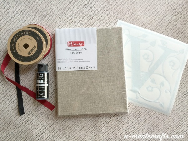 1 Monogram Canvas Supplies
