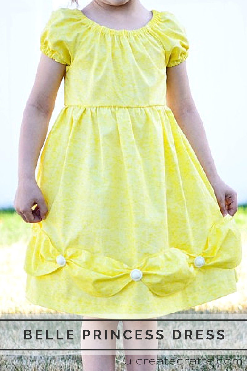 Little Girl Princess Dress with Flowers Pencil Hemmed