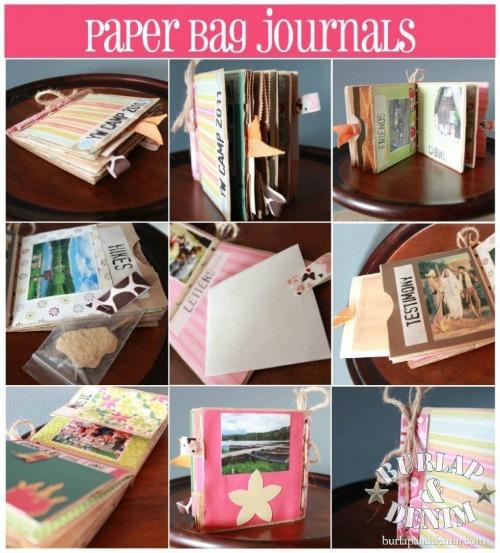 Burlap denimPaper-Bag-Journals-for-Camp