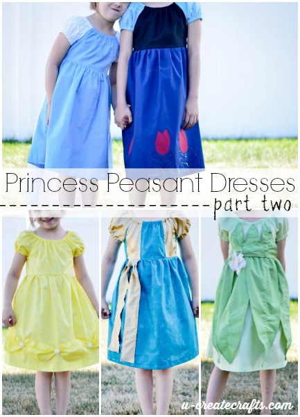 Princess Peasant Dresses Part 2 u-createcrafts.com