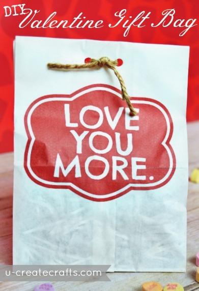 Valentine Gift Bag PRINTER