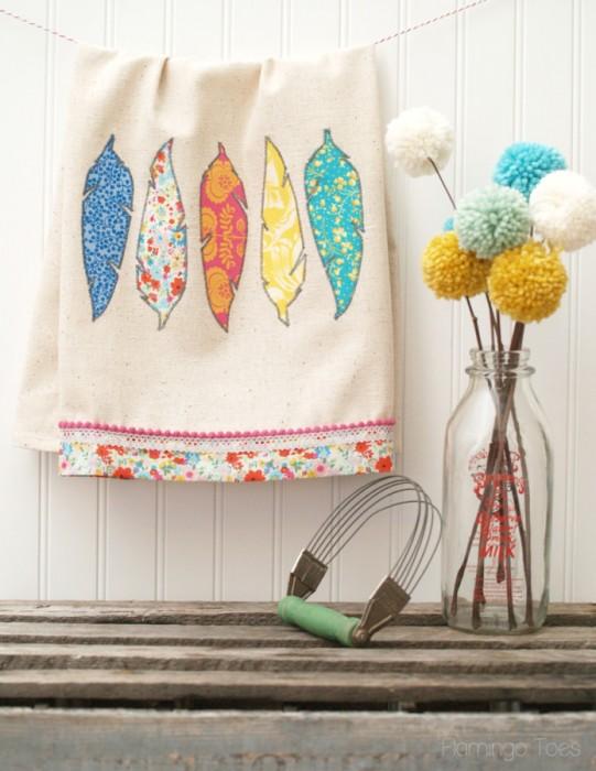 DIY-Fabric-Feather-Dishtowel-695x900