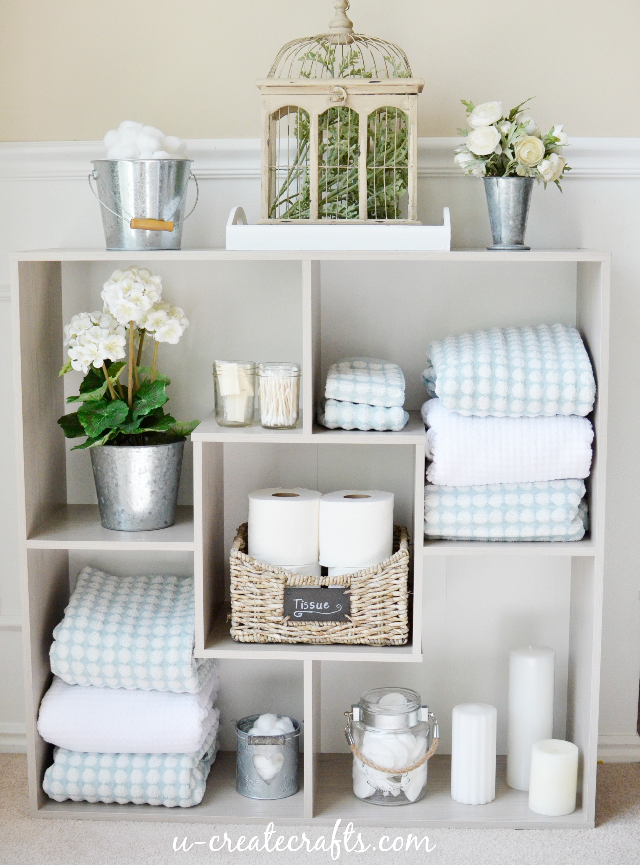 sauder bathroom shelves u create. Black Bedroom Furniture Sets. Home Design Ideas