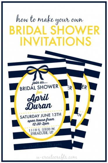 How to Make Your Own Bridal Shower Invitations Using PicMonkey