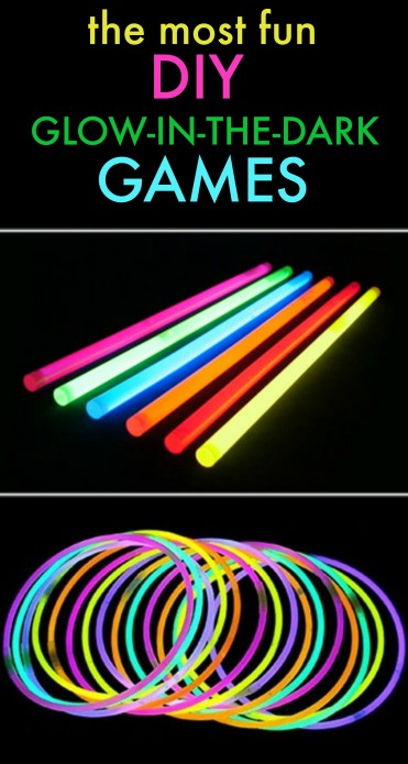 Glow in the Dark Games by U Create - fun for all ages and summer parties!