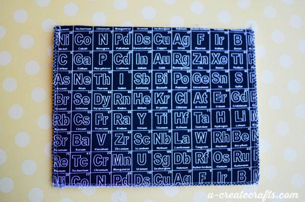 13 Zigzag stitching