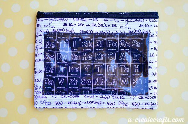 15 Pencil Pouch pattern