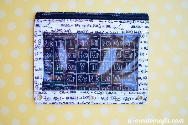 20 Binder Pouch Tutorial from U Create