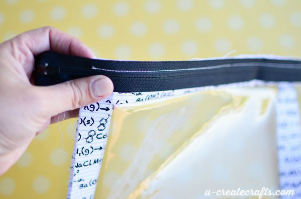 5 Pencil Zipper Pouch