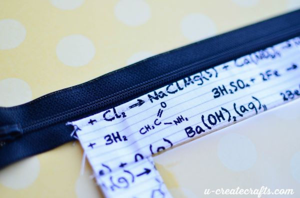 6 zipper binder pouch