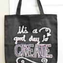 Chalkboard Craft Tote Tutorial