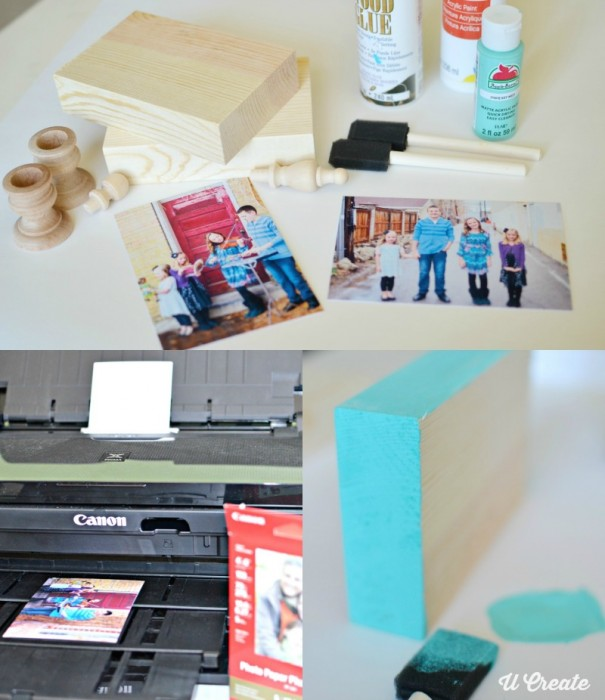 DIY Wooden Photo Frames by U Create