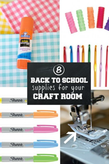 8 Back to School Supplies for your Craft Room