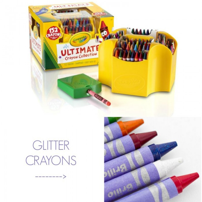 Crayola Glitter Crayons and Ultimate Pack