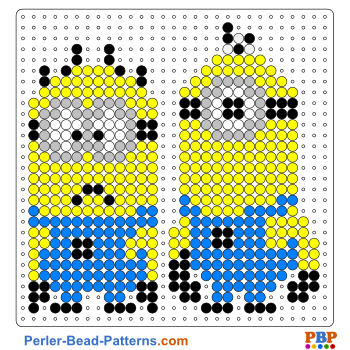Free Minion Perler Bead Patterns