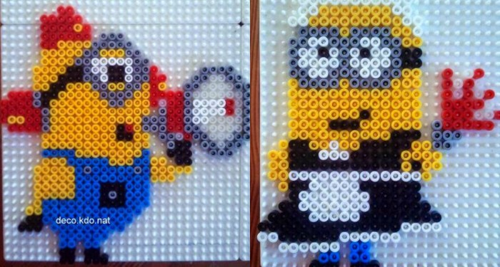 Minion Perler Bead Patterns