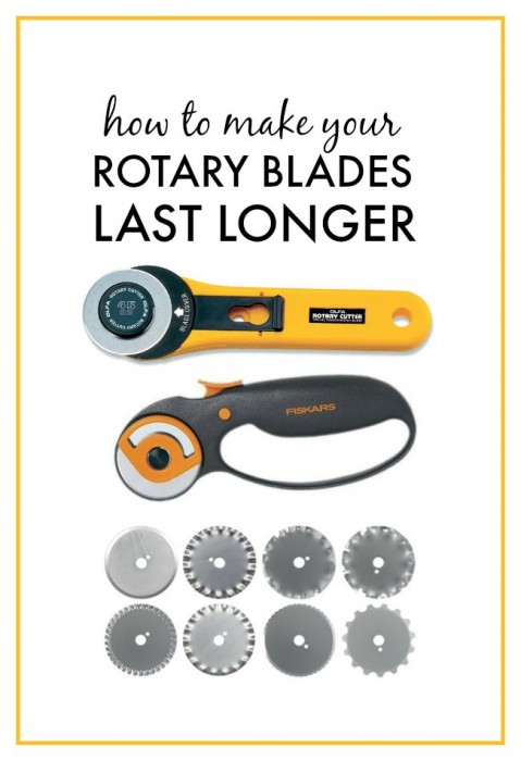 How to Make Your Rotary Blades Last Longer
